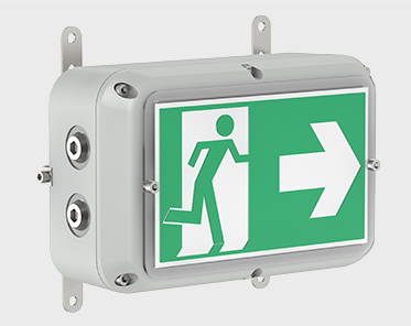 Raytec Spartan Bulkhead Zone 1 And 2 Exit Sign